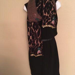 Betsey Johnson scarf